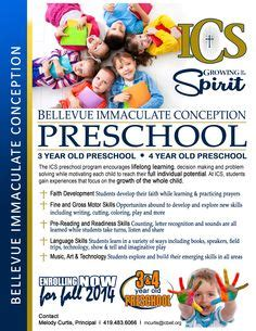 Preschool Advertising Ideas Daycare Advertisements Flyers For Small Business Marketing Catholic School Marketing Plan Template