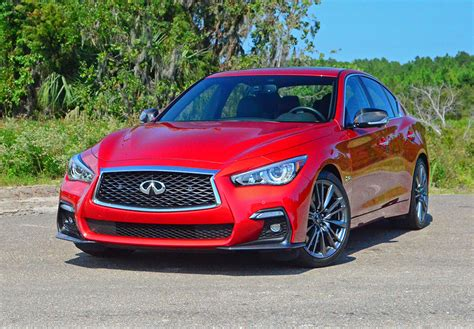 quick review 2017 infiniti 2018 infiniti q50s red sport quick spin review test