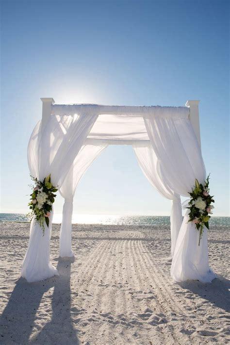 A Romantic Destination Wedding in Marco Island   Beach