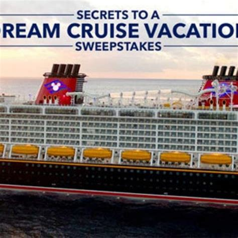 Disney Dream Vacation Giveaway - win a disney dream cruise vacation granny s giveaways