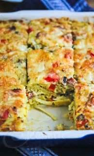 healthy bacon egg potato breakfast casserole recipe
