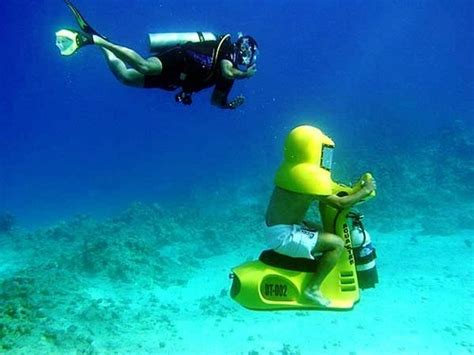 jual water scooter cozumel mini submarine under water scooter excursion
