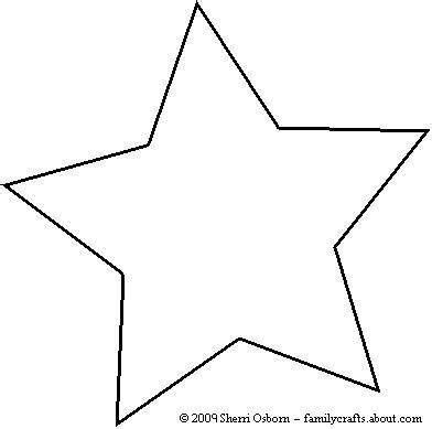 printable star shape cut outs printable star pattern for pdf download enlarge 150 for
