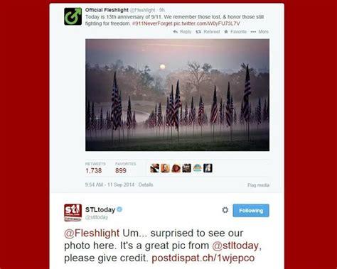 Fleshlight Giveaway - st louis post dispatch asks fleshlight for photo credit after 9 11 tweet news blog