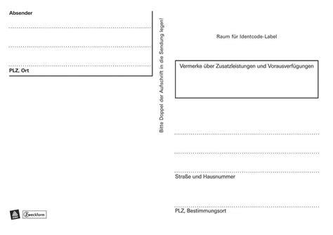 Adressaufkleber Zweckform by Avery Zweckform Adressaufkleber Paketaufkleber A6 Quer