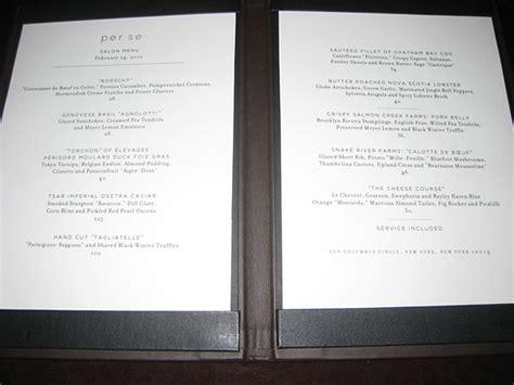 per se salon nyc restaurant review travelsort