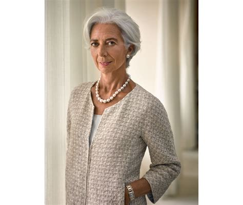 Style Goes Global With Christine Cabusas by Christine Lagarde Fran 231 Aise La Plus Influente Du Monde