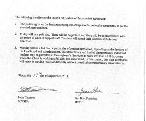 Agreement Letter With Signature bc school board letters 7 lined paper if they give you lined paper write sideways