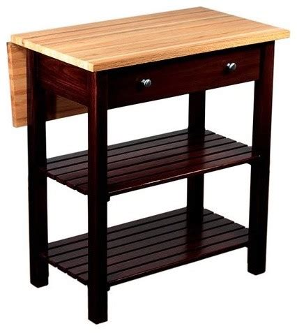 kitchen island cart with drop leaf sandy creek kitchen island with drop leaf contemporary