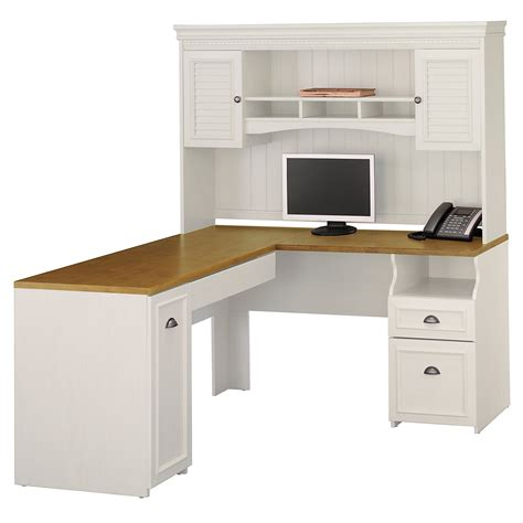 White Computer Desks With Hutch How Specious L Shaped Computer Desk With Hutch Atzine