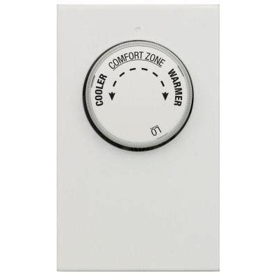 Thermostat Wire Home Depot by Single Pole 2 Wire Line Voltage Mechanical Thermostat