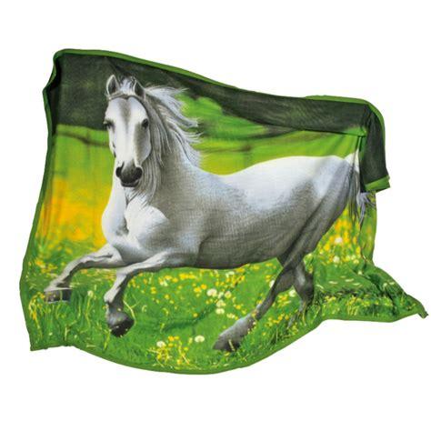 decke pferdemotiv geschenkwichtel fleece decke mit pferdemotiv