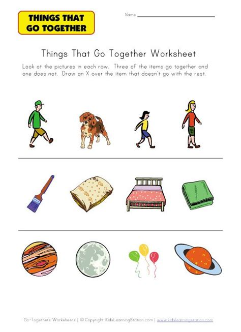 thing that doesn t go together worksheet speech therapy