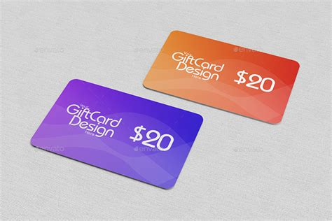 Reward Cards Template Mock Up by 55 Best Gift Greeting And Invitation Card Mockups Free