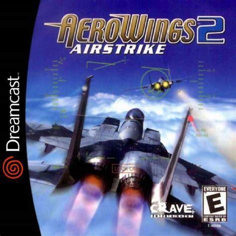 emuparadise vectrex aerowings 2 air strike dreamcast game