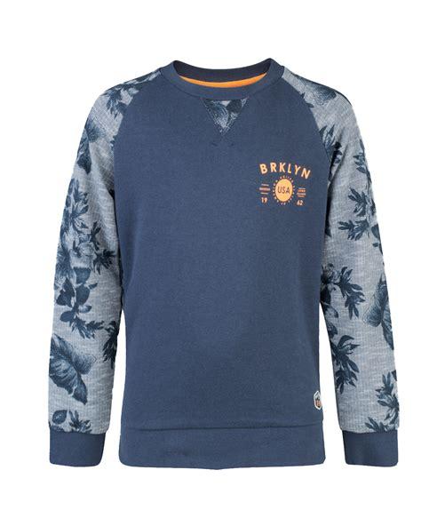 Printed Sleeve Sweater jongens printed raglan sleeve sweater 80444688 we fashion