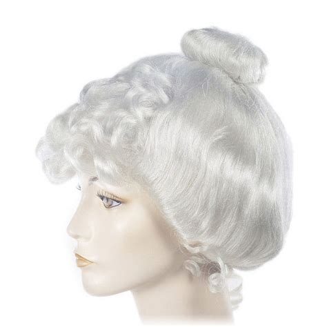 lacey mrs claus gibson wig santa supply online
