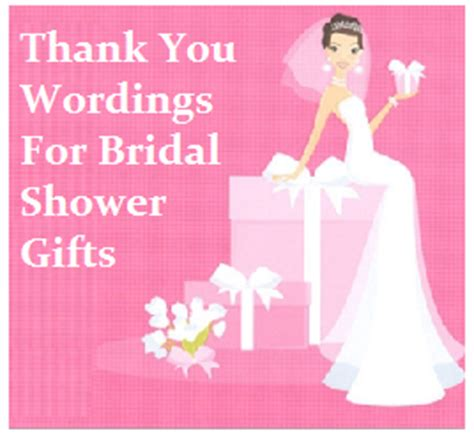 thank you messages bridal shower - Thank You Wording For Hosting Wedding Shower