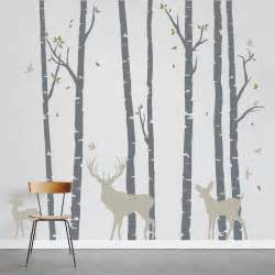 birch tree wall decals 2017 grasscloth wallpaper