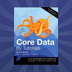 data by tutorials fourth edition ios 11 and 4 books getting started with data tutorial