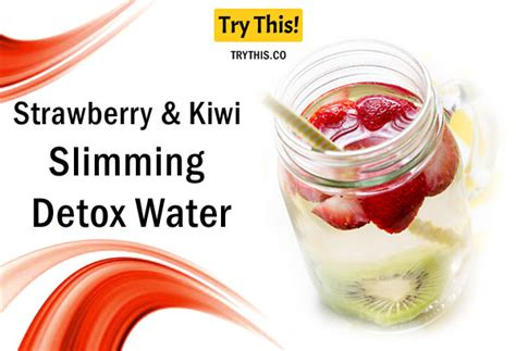 Strawberry And Kiwi Detox Water by Detox Water Top 50 Fruit Infused Water Recipes Health