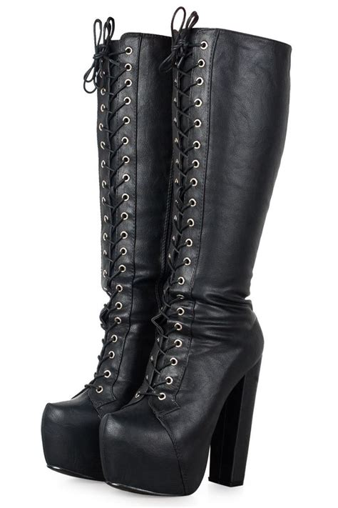 combat high heel boots i need to get my combat boots out of the closet glad i