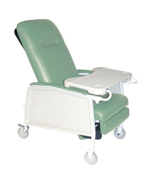 Drive 3 Position Geri Chair Recliner 3 position heavy duty bariatric geri chair recliner jade drive d574ew j ebay