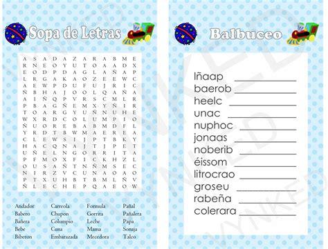 sopa de letras de baby shower para imprimir gratis apexwallpapers 2 in 1 games sopa de letras and balbuceo baby shower train