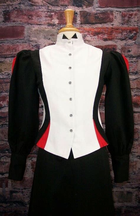 frontier classics victorian black  white fitted