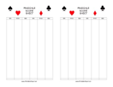 whist score cards templates score sheets