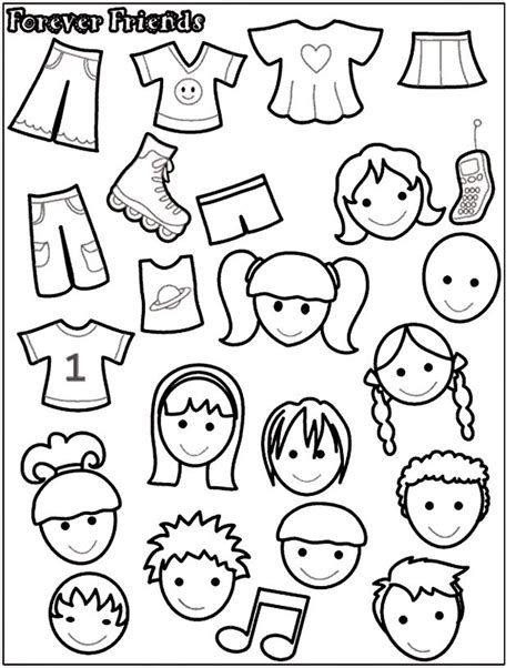 felt board templates free printable 17 best ideas about paper doll template on