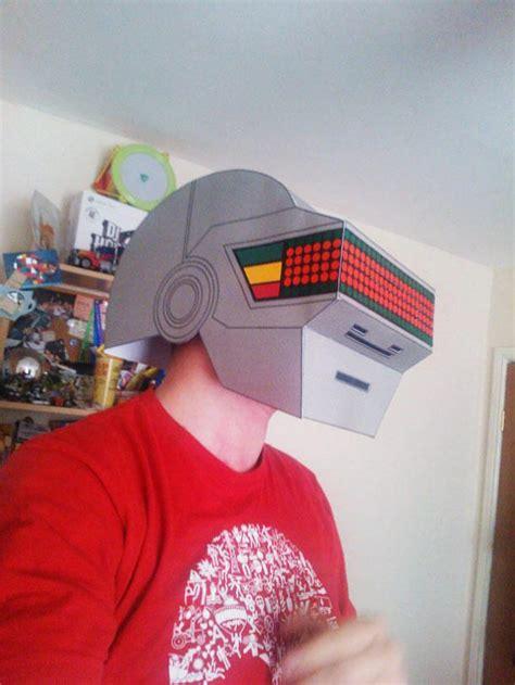 Daft Papercraft - daft helmets papercraft x 2 paperblog