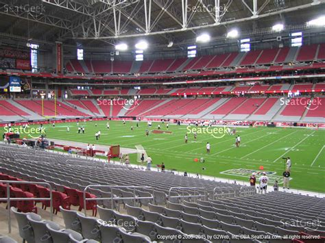 university bookstore section 14 university of phoenix stadium section 104 seat views