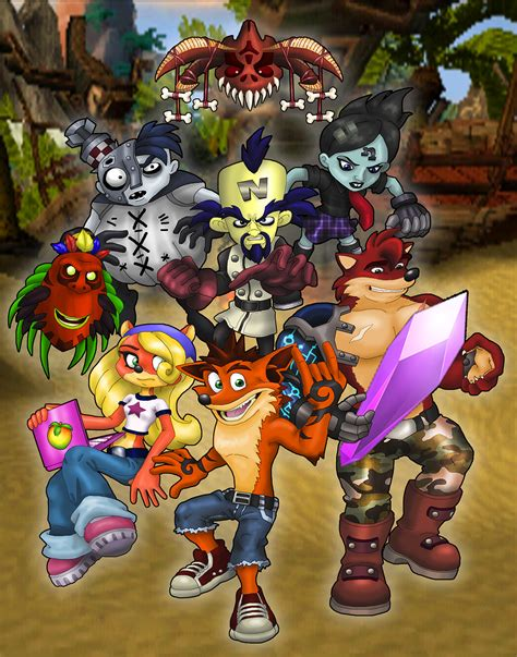 crash bandicoot by zerbear333 on deviantart