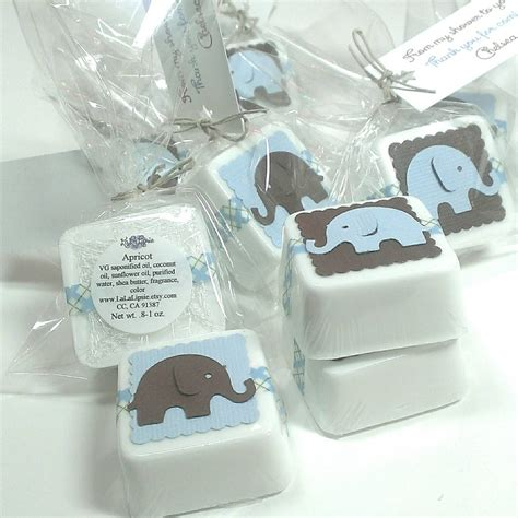 Baby Shower Elephant Favors by Elephant Baby Shower Favors Shower Favor Soaps Favors Boy