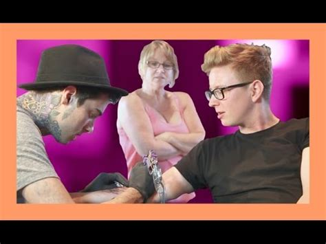 queen jackie tattoo my first tattoo ft queen jackie tyler oakley 3gp mp4