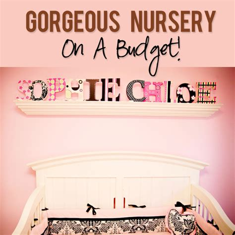 Decorating Nursery On A Budget Nursery Decor