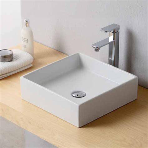 lavabi bagno appoggio lavabi appoggio lavabo appoggio square 40x40