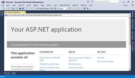 membuat web dengan asp net vb pengenalan asp net mvc buat aplikasi web mvc pertama