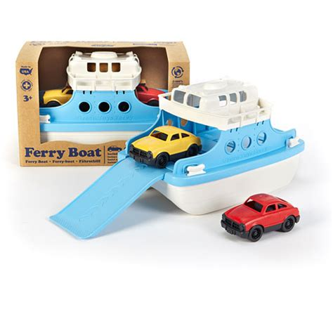 ferry boat with mini cars green toys ferry boat with mini cars over the rainbow