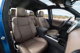 Toyota Tacoma Interior Refreshing Or Revolting 2016 Toyota Tacoma Photo Gallery