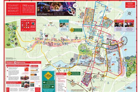 tour map hop on hop tour singapur