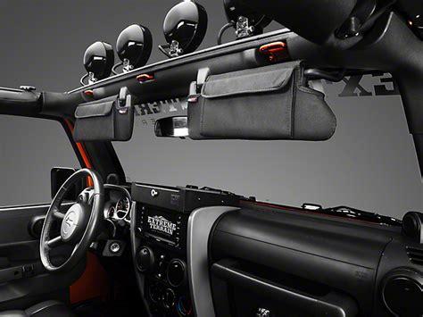 jeep sun visor rugged ridge wrangler sun visor organizer pair 13305 07