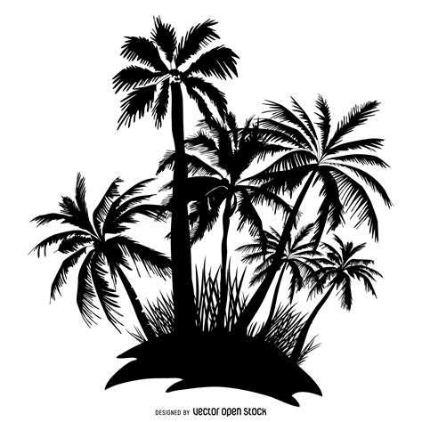 palm tree svg palm tree silhouette www imgkid com the image kid has it