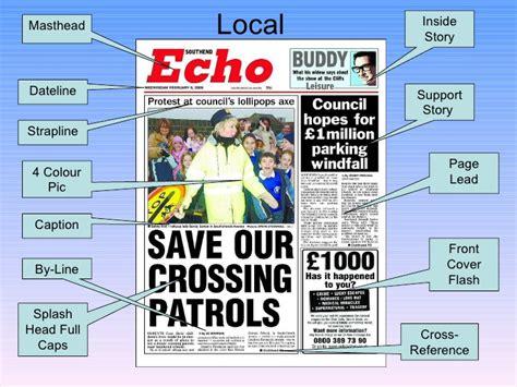 Newspaper Layout Strapline | newspaper layout analysis