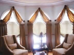 How To Drape Window Scarves Swag Valances Swags And Jabots Swag And Cascade Valance
