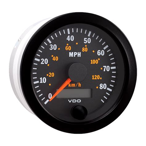 Auto Speedometer Calibration by Saapni Vdo Vision Black 85mph 130kmh 3 3 8
