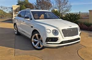 White Bentley Suv 2017 Bentley Bentayga Test Drive Our Auto Expert