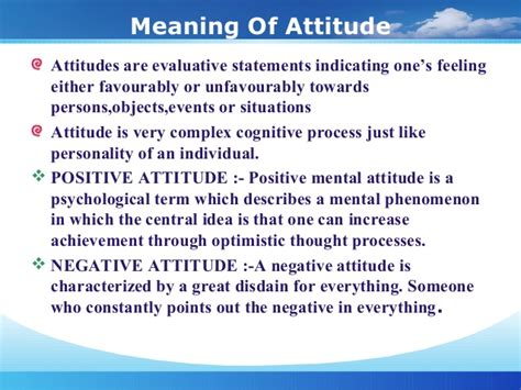 Mba Hons Meaning attitude ppt mba hons