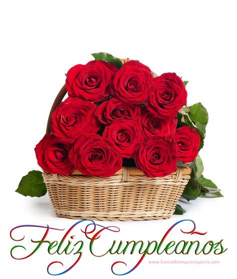 imagenes de flores happy birthday feliz cumplea 241 os rosas rojas 2 png 1000 215 1181 happy